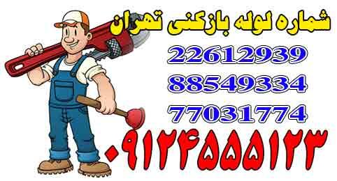 شماره لوله بازکنی در تهران