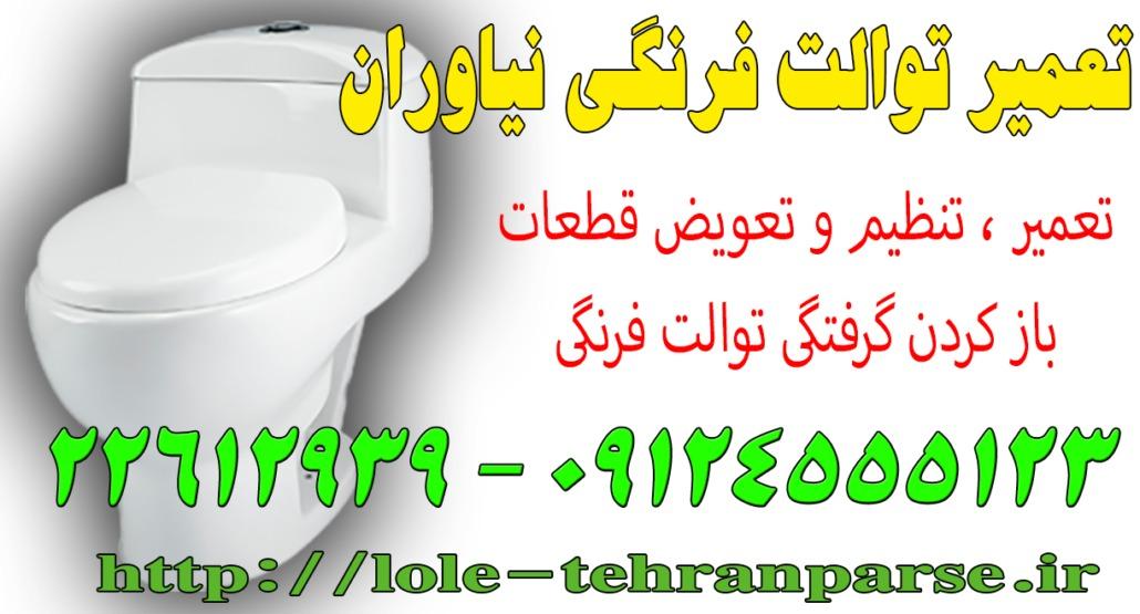 تعمیر توالت فرنگی نیاوران